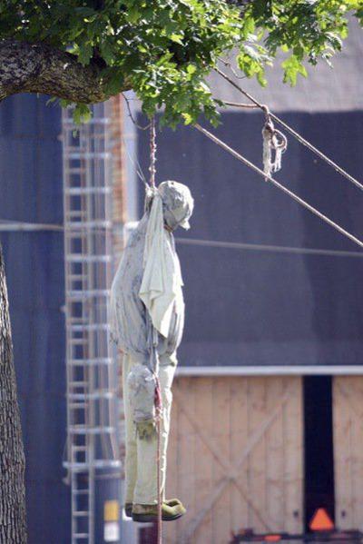 'Not a welcoming sight:' Garrett officials condemn hanging figure