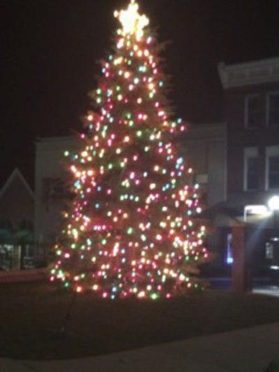 frostburg tree lighting a celebration of small town spirit