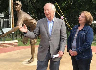 Franchot visits Lefty Grove Park, presents awards on Western Maryland swing