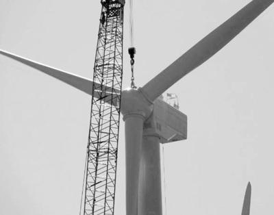 Final turbine installed