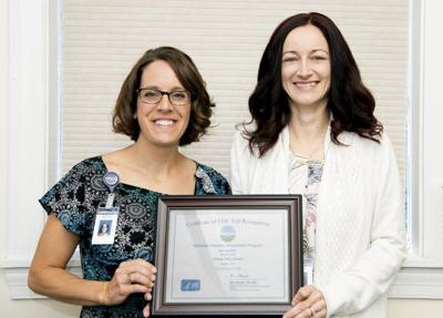 Potomac Valley Hospital diabetes prevention program earns recognition from CDC