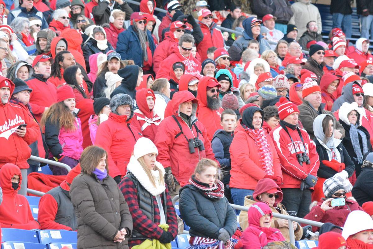 Crowd at Fort Hill vs Havre de Grace 12-10-16