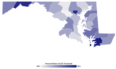 ALICE Report: Over half of Allegany County households below survival threshold