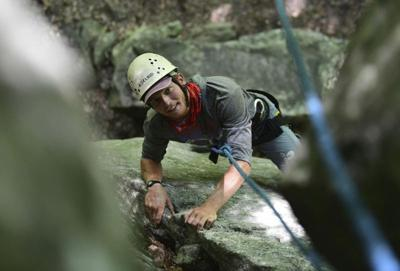 Built to scale: Rock climbing tests body, mind
