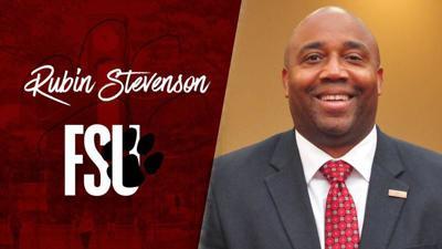 Stevenson receives promotion at FSU