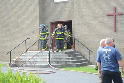 Church fire causes $3,000 damage