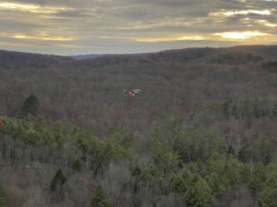 First responders, helicopter crew rescue injured hiker
