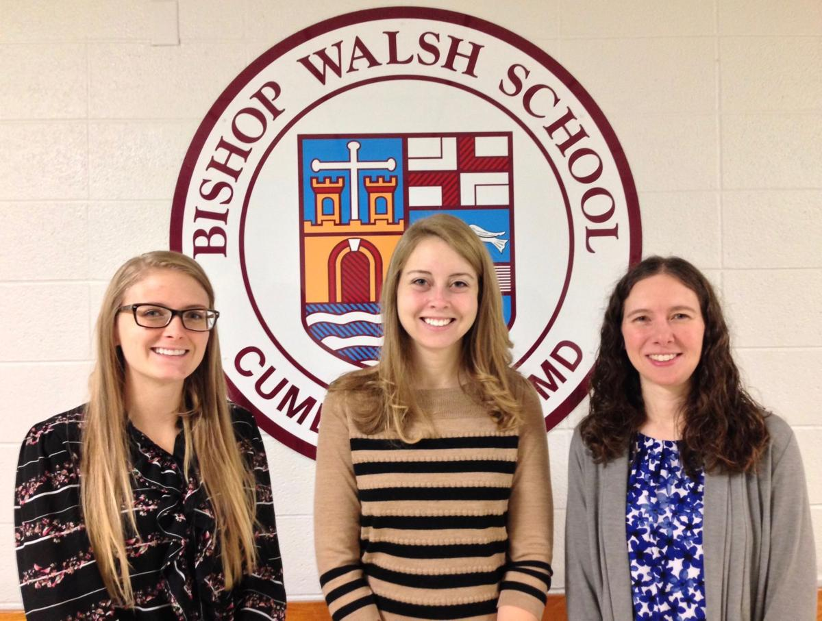 Bishop Walsh School appoints three new faculty members