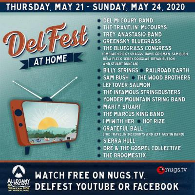 Virtual DelFest set for Memorial Day weekend