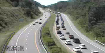 Jackknifed tractor-trailer snarls traffic on I-68 | News | times