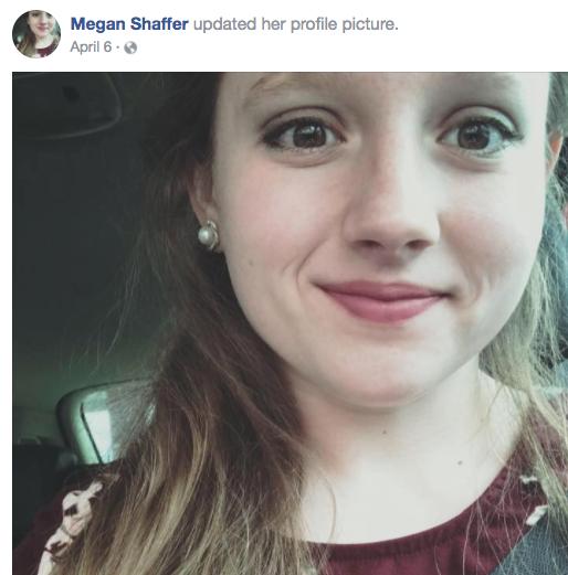 Megan Shaffer Facebook photo