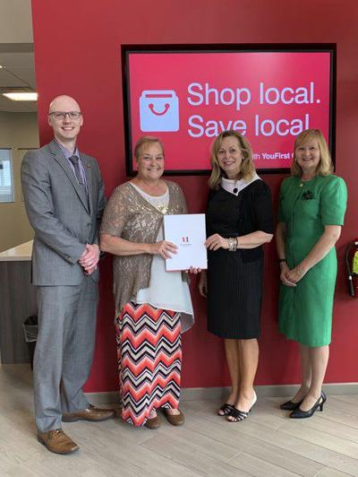 First United contributes to cancer patient assistance fund