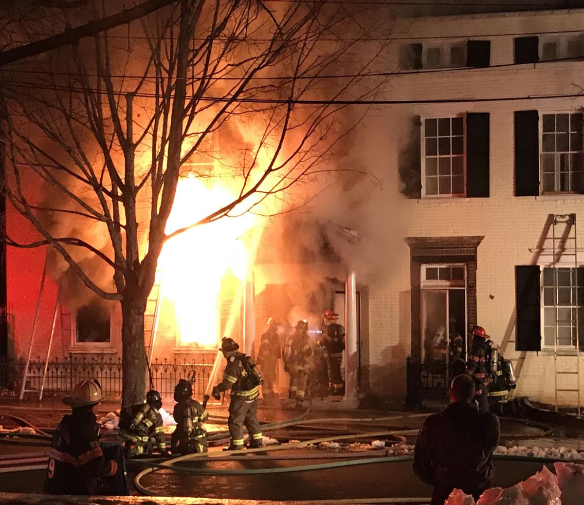 Three-alarm fire on city\'s Prospect Square: See photos and video ...