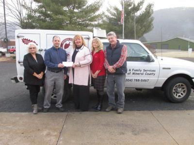 Piney Valley donates to Meals on Wheels program