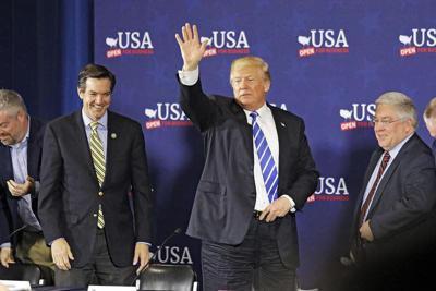 Trump touts tax cuts in W.Va. appearance