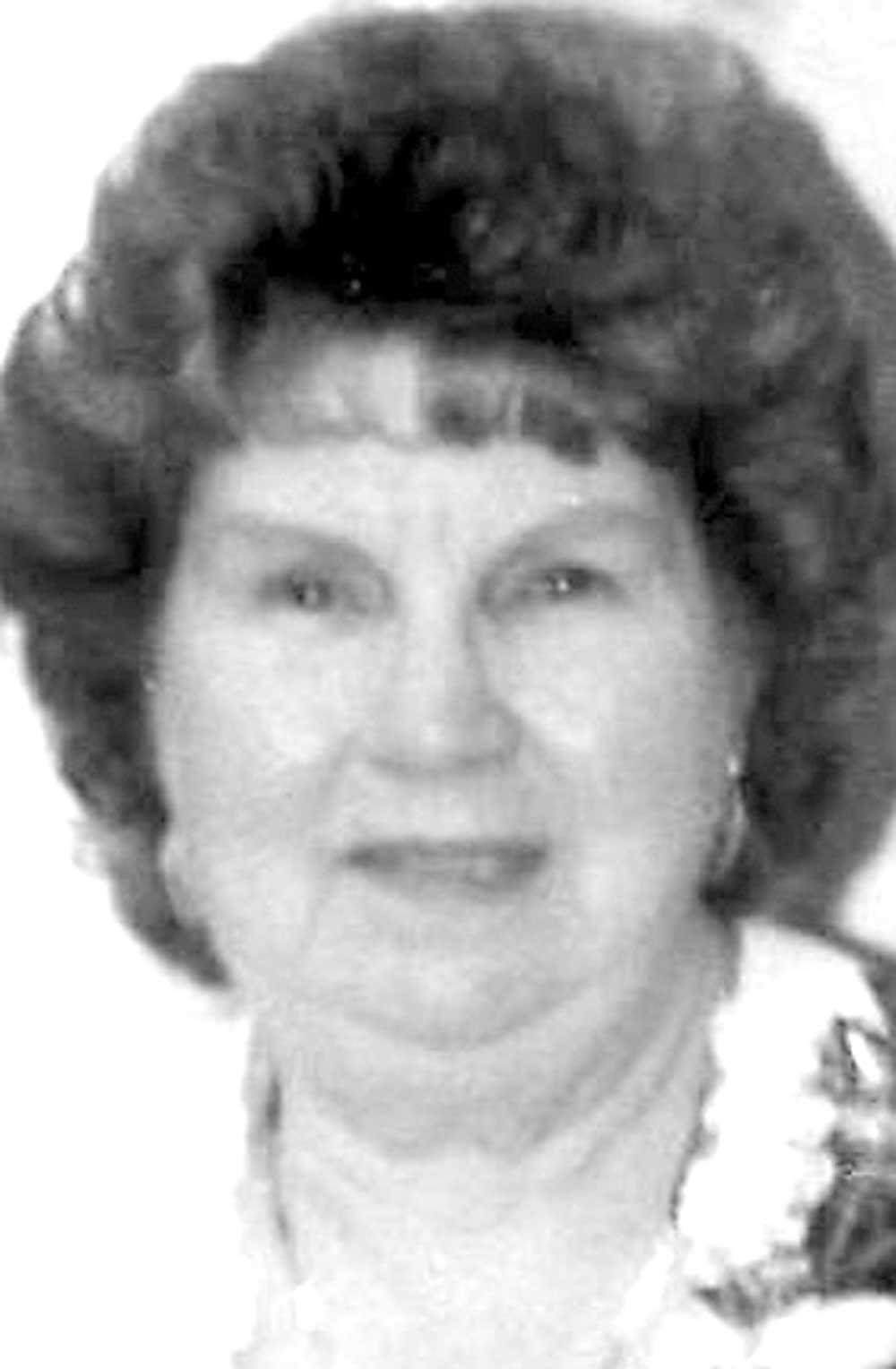 """Geraldine A. """"Dean"""" Humberson"""