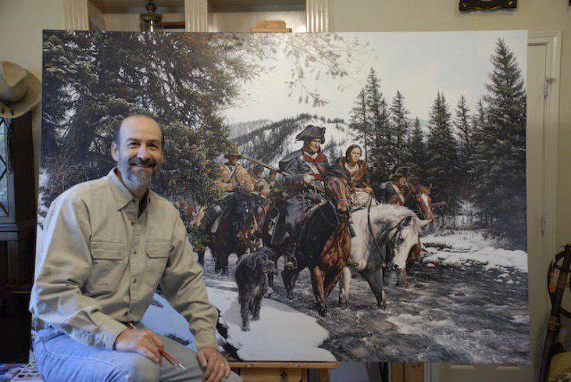 "/""McNeill/'s Rangers/"" John Paul Strain Civil War Print Capture of Union Generals"