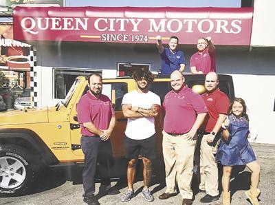 Ty Johnson at Queen City Motors