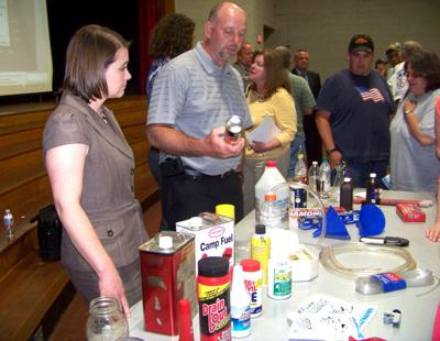 Methamphetamine production can cause dangerous fumes, fires