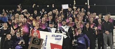 Mtn. Ridge marching bands wins group championship