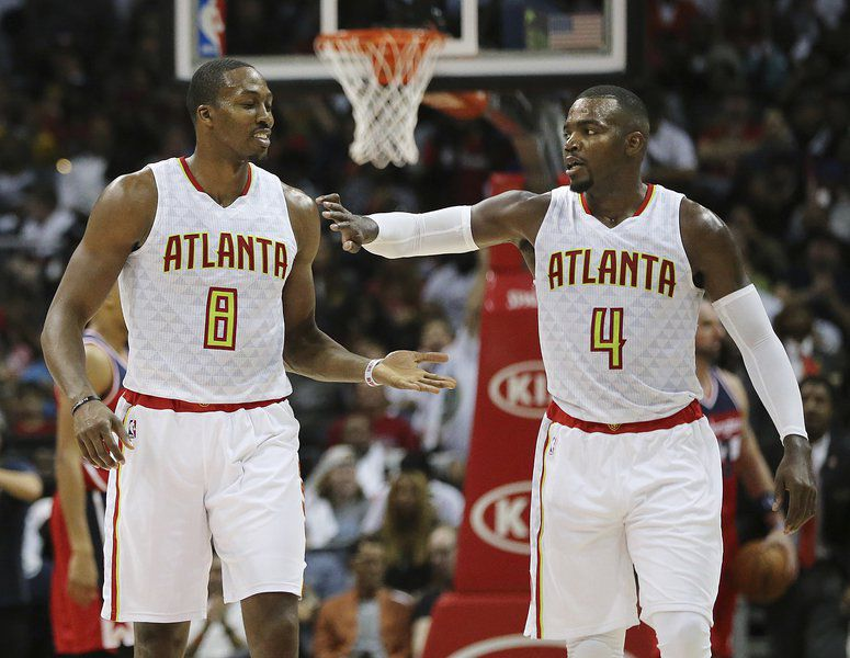 Howard, Millsap, Hardaway lead Hawks past Wizards 114-99