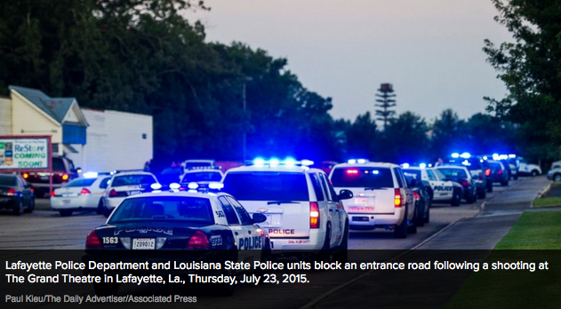 Police identify Louisiana movie theater shooting suspect as 'drifter
