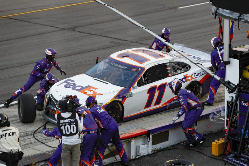 Hamlin caps marathon day of racing at Pocono with 4th win