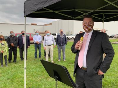 Grow West officials break ground on a new facility
