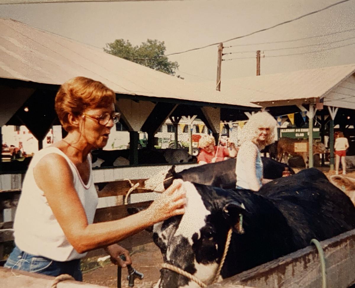 Janet Saville and Carla Eckard