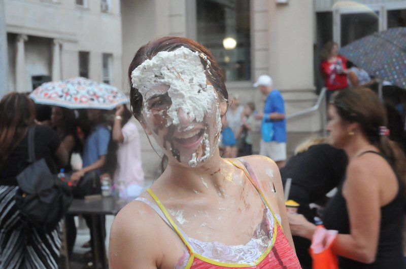 FSU students and residents mingle at annual block party