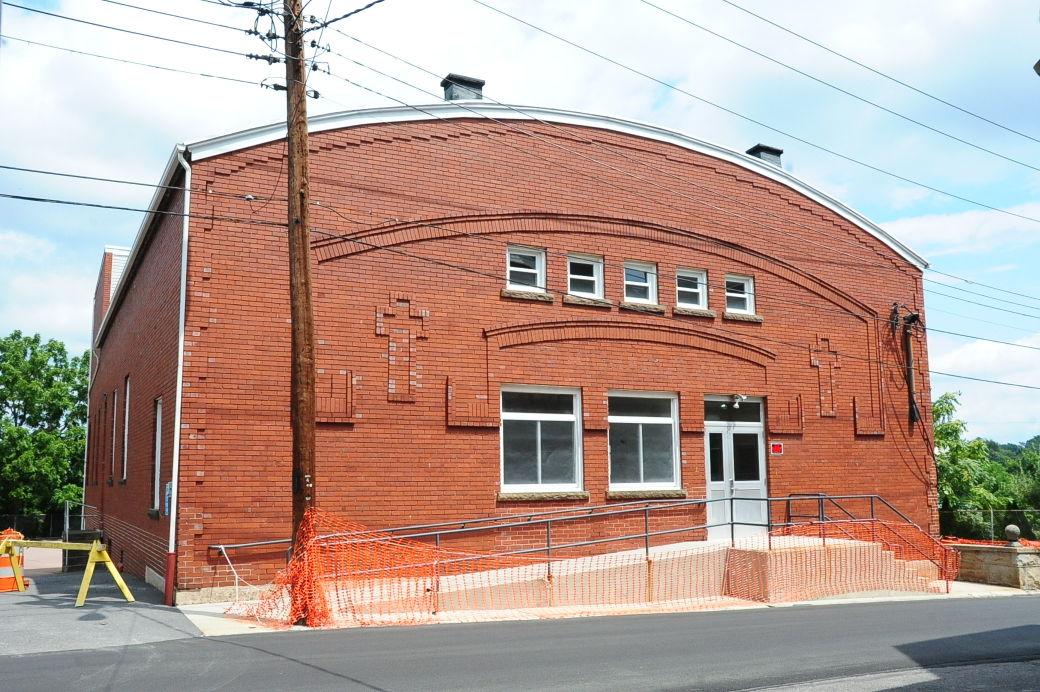 Demolition of St Michael Parish Hall set