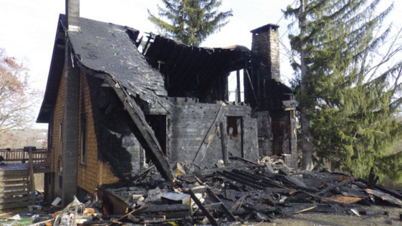 Oakland home destroyed by fire
