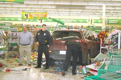 SUV crashes through Richland Dollar Tree – second time store