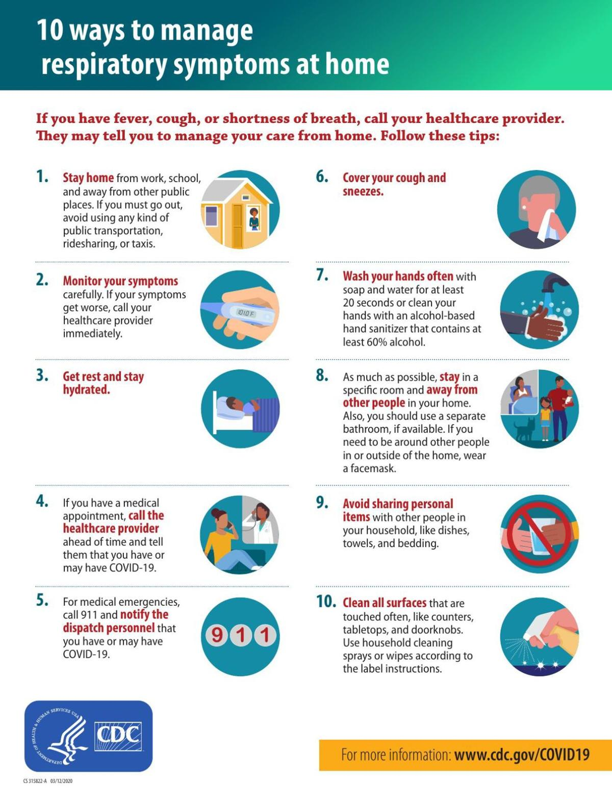 10 ways to manage your symptoms