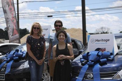 Garrett resident receives car from nonprofit
