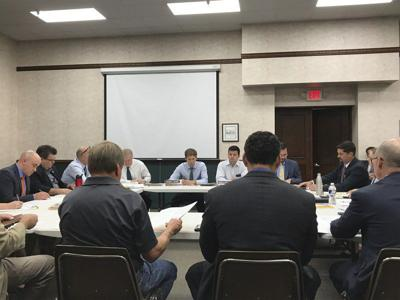 Bridges take center stage at meeting with MDOT officials
