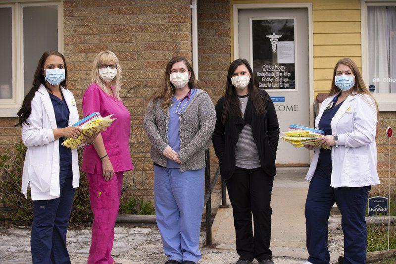 WVU Potomac State College Student Nurses' Association donates to local physicians