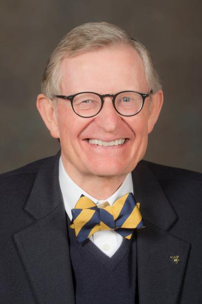 West Virginia University President Gordon Gee