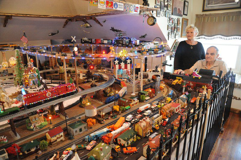 Local model train enthusiast realizes dream, builds rail yard