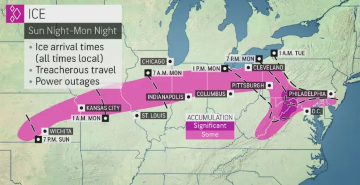 AccuWeather map