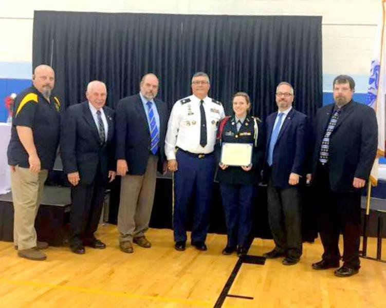 Northern High cadet earns JROTC award