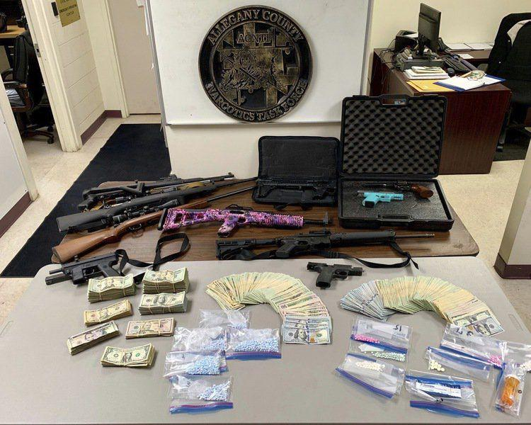 4 arrests in Frostburg, Rawlings drug raids