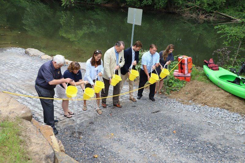 New boat ramp enhances area's outdoor recreation