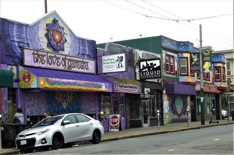 Revisiting San Francisco's Haight, Ashbury streets five decades later