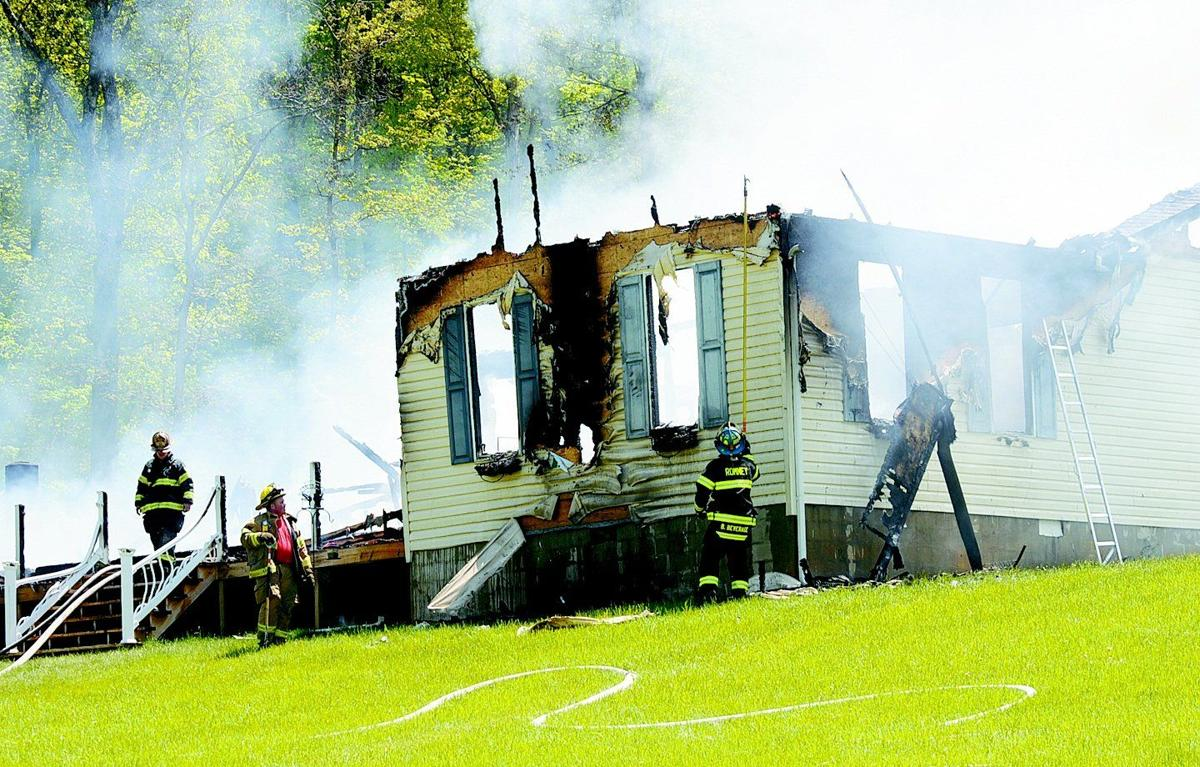 Fire destroys W.Va. home