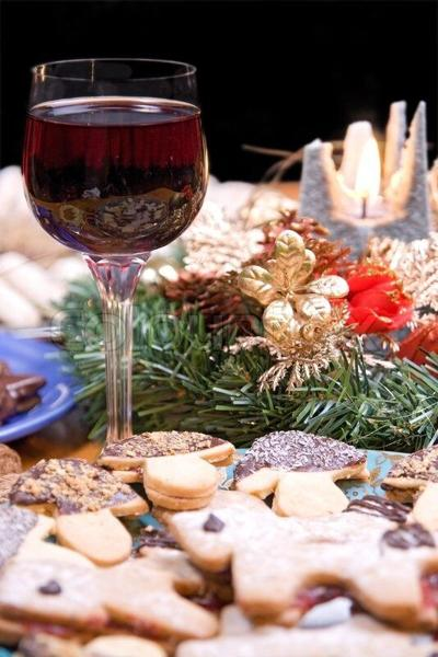 cookies and wine pairing