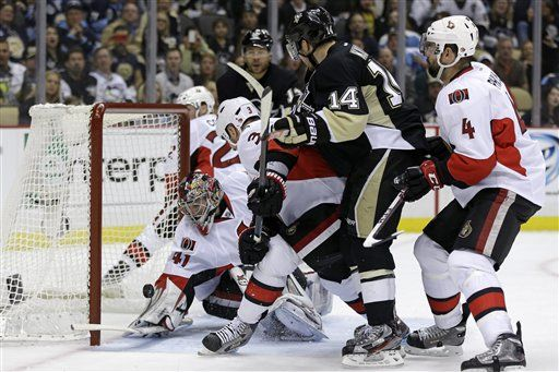 Senators hoping to tighten up against Penguins