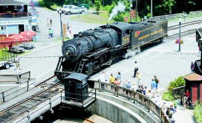Landslide takes scenic railroad's Frostburg excursions off track