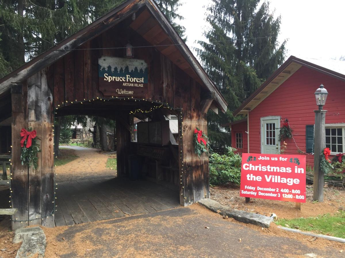 Penn Alps Christmas In The Village 2020 Christmas in the Village kicks off Dec. 2 at Spruce Forest   Slice