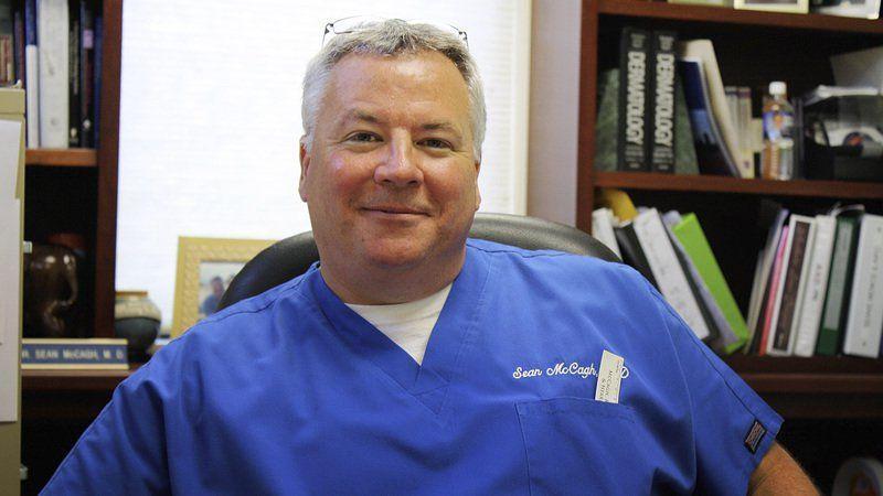 Dr  Sean McCagh earns Dapper Dan award | Community | times-news com